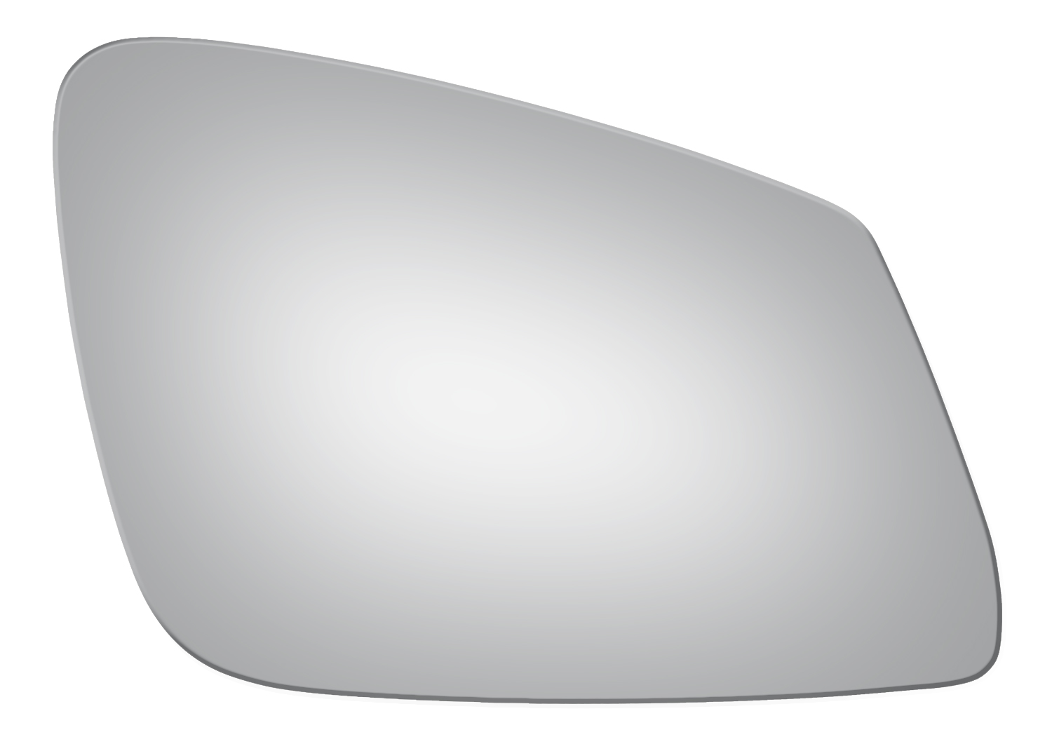 New Door Mirror Glass Replacement Passenger Side For BMW 528I M5 M6 Xdrive