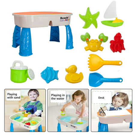 LeKing Children's Beach Toy Set Safe Non-toxic Summer Swimming Sand Digging Table Water Puzzle Toys for Kids over 3 Years Old - image 1 of 9