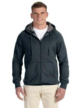 Hanes Mens Nano Premium Lightweight Full Zip Hoodie, Color: Vintage Navy, Size: 3XL --- PACK OF 2 (Men's Fleece - Original Company Packing)