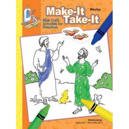 Wesley Fall 2017: Preschool Make-It/Take-It (Craft Book) (#3013)