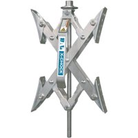 Bal Products 28010 X-Chock Tire Locking Chock for RV Trailers