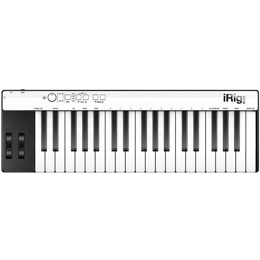 IK Multimedia iRig Keys Pro 37-Key MIDI Controller for iOS, Mac and PC