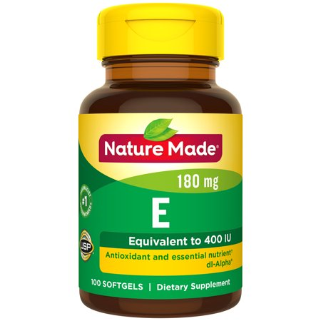 Nature Made® Vitamin E 180 mg (400 IU) dl-Alpha Softgels ()