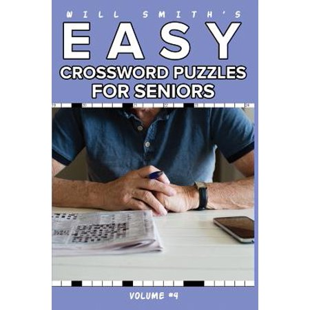 Will Smith Easy Crossword Puzzle for Seniors - Volume