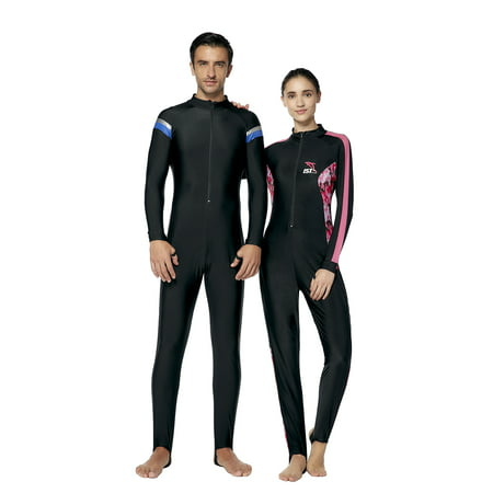 IST Full Body Dive Skin Jumpsuit / Spandex Wetsuit for Scuba Diving, Snorkeling & More (Men's 2X-Large)