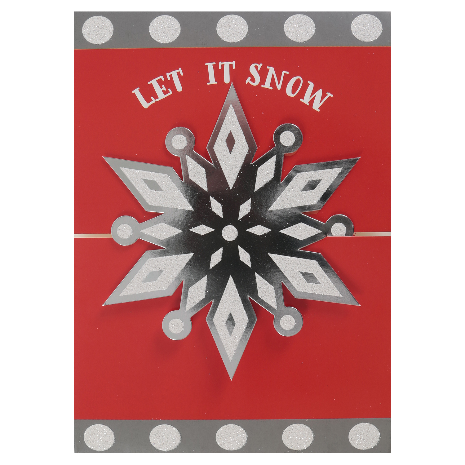 Holiday Time 24ct Snowflk Cards