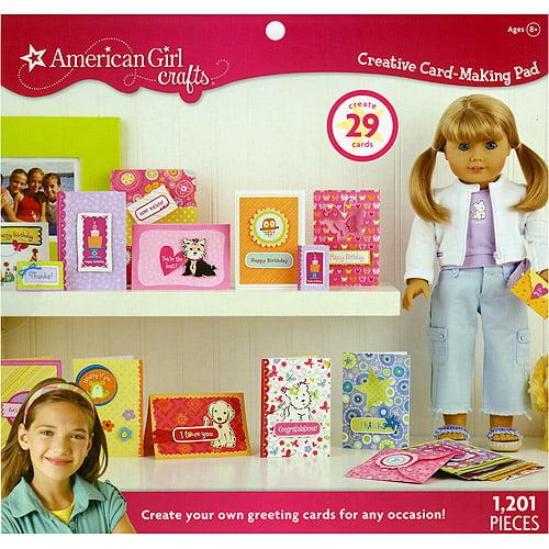 American Girl Creative Card Making Pad