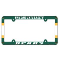American Logo Products Baylor Bears License Plate Frame
