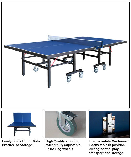 BlueWave Products Ping Pong NG2310P3 Back Stop Ping Pong Table by Carmelli