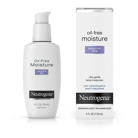 Neutrogena Oil-Free Daily Sensitive Skin Face Moisturizer, 4 fl. oz