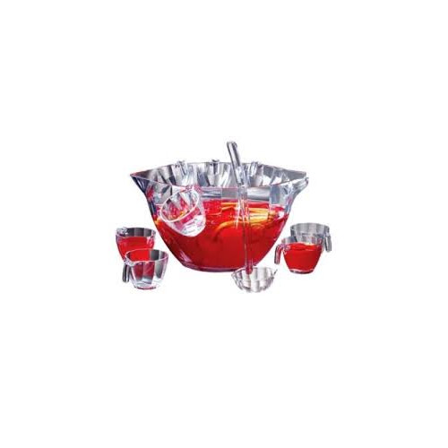 Prodyne 12 Piece Illusions Punch Salad Bowl Set