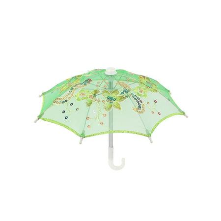Handmade Wedding Sequin Decor Cotton Lace Mini Parasol Children Umbrella - Parasol Lace