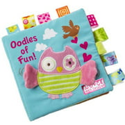 Tuscom Animals Owl Soft Cloth Baby Intelligence Development Learn Picture Cognize Book
