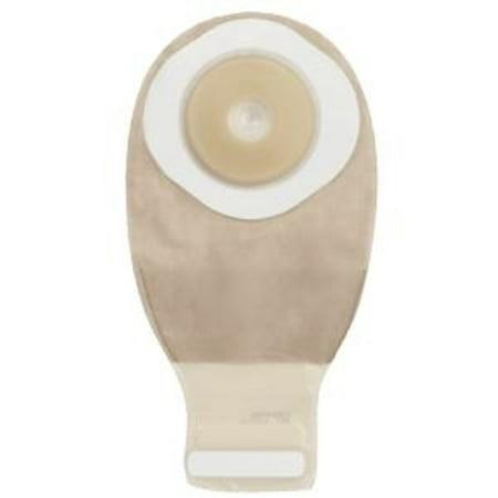 Esteem + convex one-piece drainable pre-cut pouch w/