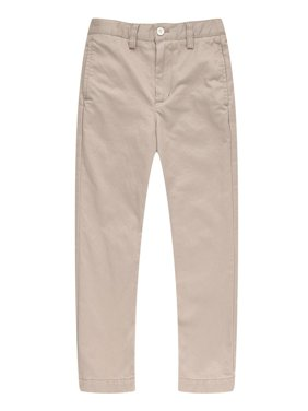 Richie House Big Boys Khaki Leisure Cotton Pants 7-16