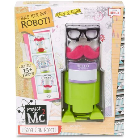 Project Mc2 Soda Can Robot](Valentine Art Projects)