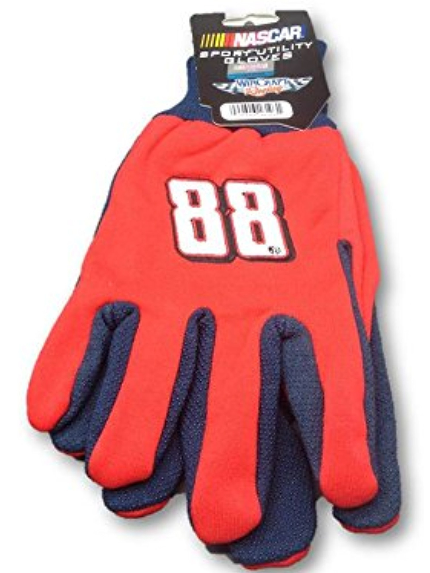 Dale Earnhardt Jr #88 Work Nascar Knit Jersey Utility Gripping Adult Gloves by McArthur