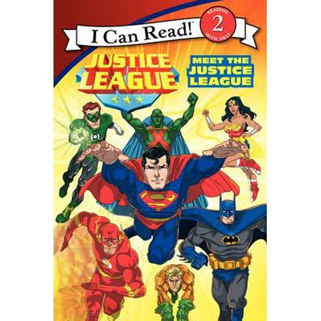 Justice League: Meet the Justice League