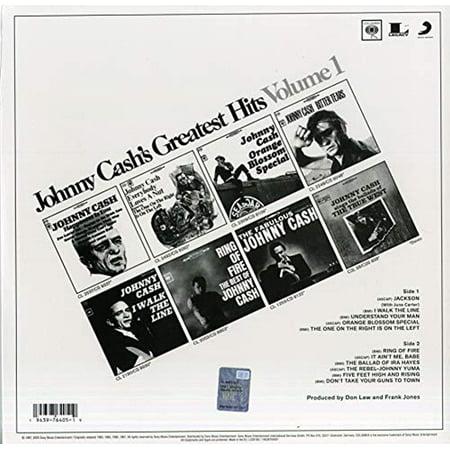 Johnny Cash - Greatest Hits Volume 1 - Vinyl
