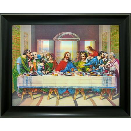 3D Lenticular Picture framed Last Supper