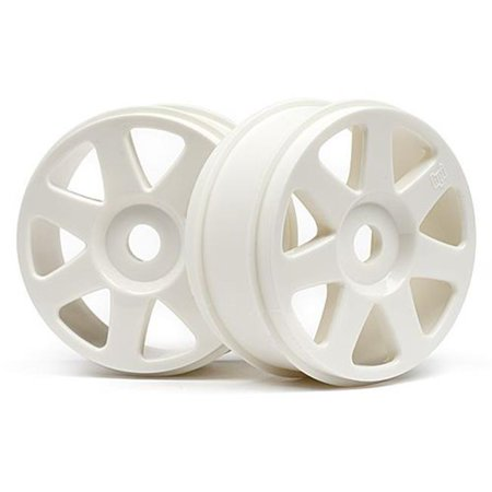 HPI Racing HPI103678 42 x 83 mm V7 1-8 Buggy Wheel, White - 2 Piece