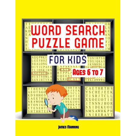 Word Search Puzzle Game : A Large Print Word Search Puzzle Game Book with Word Search Puzzles for Third Grade Children: The Word Search Exercises in This Book Are Fully - Halloween Games 3rd Grade Class