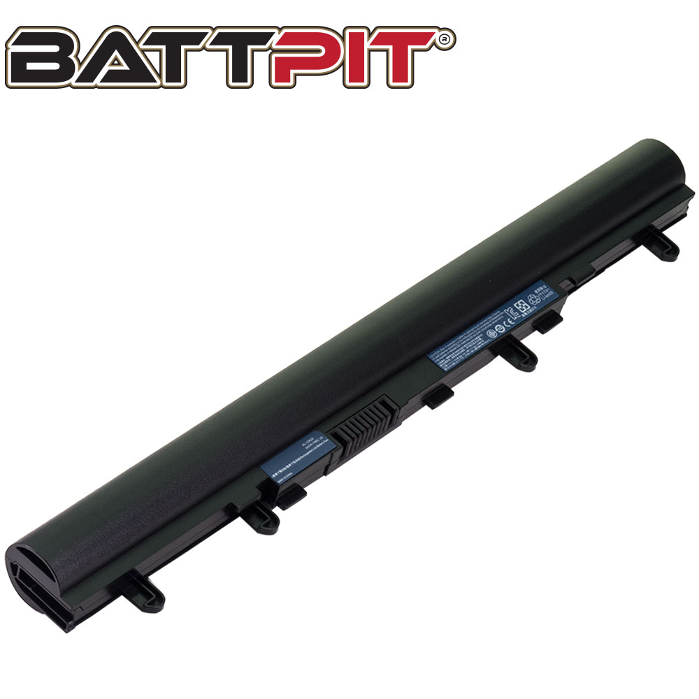 BattPit: Laptop Battery Replacement for Acer Aspire E1-510P, 4ICR17/65, AL12A32, B053R015-0002, TZ41R1122
