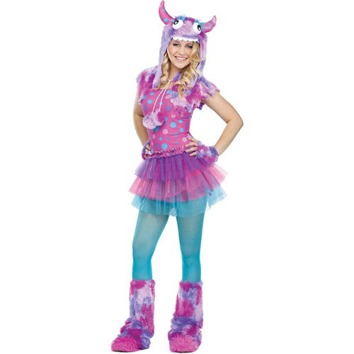 Polka Dot Monster Teen Halloween Costume - One Size