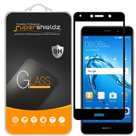 [2-Pack] Supershieldz Huawei Ascend XT2  [Full Screen Coverage] Tempered Glass Screen Protector, Anti-Scratch, Anti-Fingerprint, Bubble Free (Black Frame)](huawei ascend p6 price)