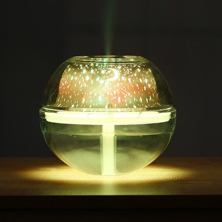 USB Colorful LED Projector Light Humidifier Crystal Projection Lamp Night - 3m Lcd Projector Lamp