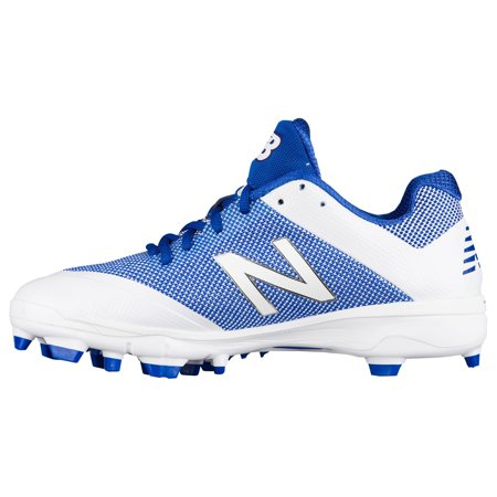 new balance pl4040v4 tpu molded cleats low cut blue white