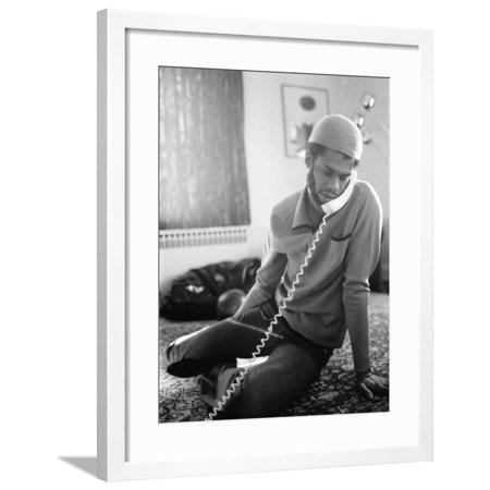 Kareem Abdul-Jabbar Framed Print Wall Art By Ozier - Kareem Abdul Jabbar Framed Photo