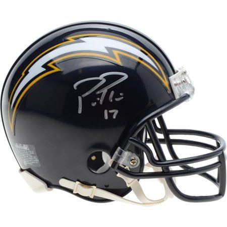 Philip Rivers Los Angeles Chargers Autographed Riddell Throwback 88-06 Mini Helmet - Fanatics Authentic Certified