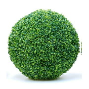 Artificial Boxwood Topiary Ball, Faux Topiary Tree Substitute, Fashion Artificial Plant Ball,Indoor Outdoor Centerpiece for Wedding, Home Dcor,3pc,19inch