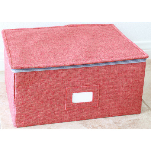 InThiSPACE Storage Box Set with Zipper Lid