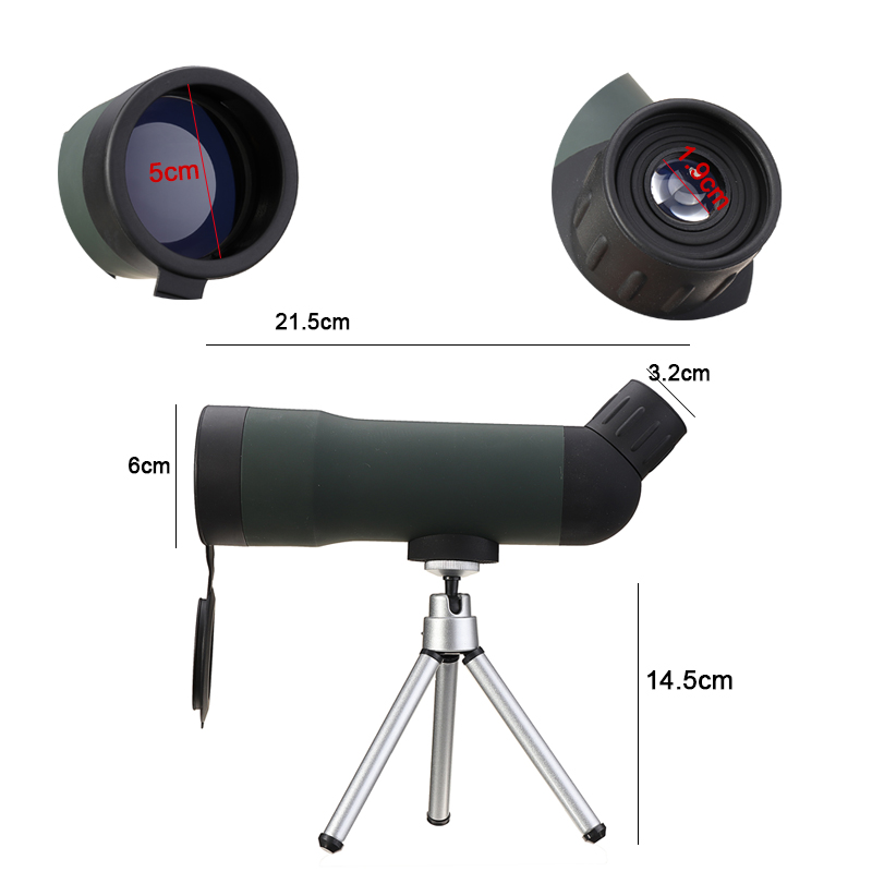 UK 20x50 Zoom Outdoor Bird Spotting Scope Monocular Telescope Tripod  UK !