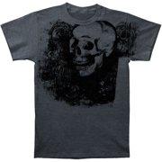 Novelty Men's  Fluer De Lis T-shirt Grey