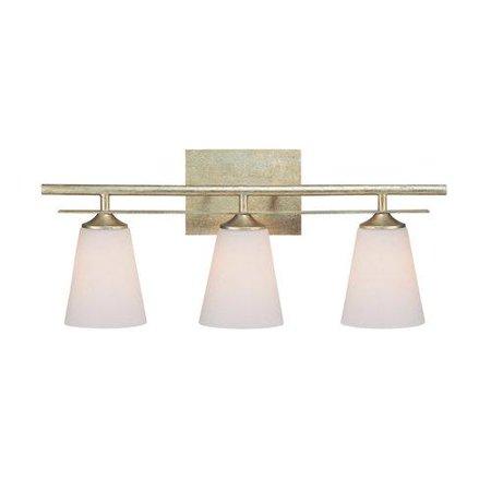 Capital Lighting  Soho Collection 3-light Winter Gold Bath/Vanity Light