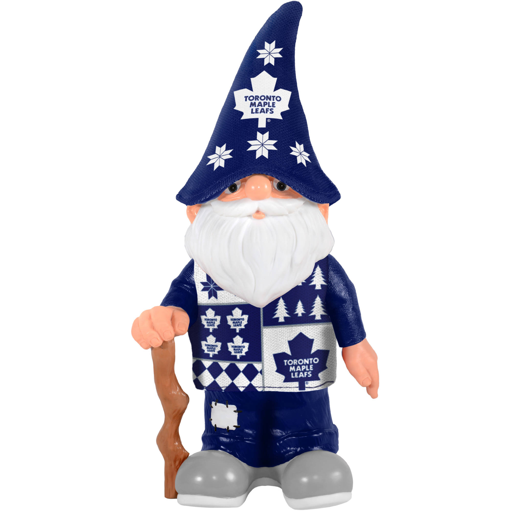 Forever Collectibles NHL Real Ugly Sweater Gnome, Toronto Maple Leafs