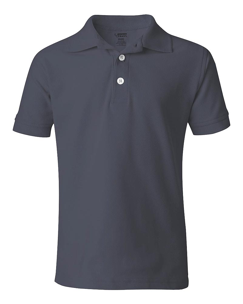 French Toast Unisex S/S Pique Polo (Youth Sizes 8 - 20)