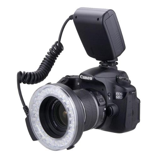 650D 500D T3 400D For The Canon Digital EOS Rebel SL1 T4i T3i 1200D 550D T5 1000D XSI T2i XS 450D 600D 700D Clear, Warming, Blue, White 1100D Polaroid 48 Macro LED Ring Flash /& Light Includes 4 Diffusers , T1i XTI T5i 100D