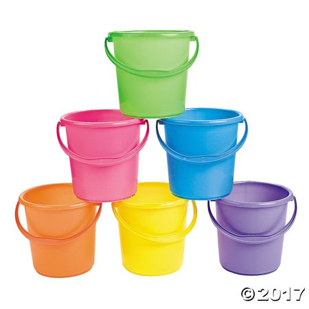 Sand Bucket Assortment - Easter Baskets, Whether it's a sandbox or beach, this Sand Bucket Assortment will provide so much fun that time will slip through.., By Fun