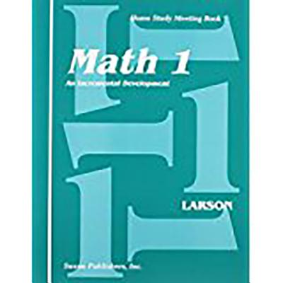 Saxon Math 1 Meeting Book First Edition