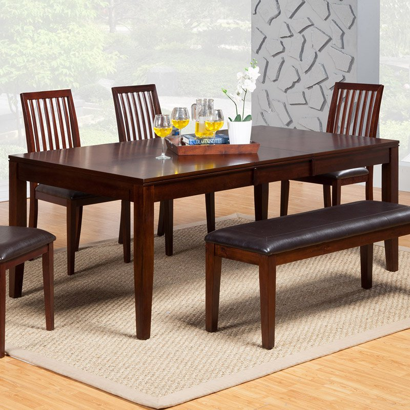 Alpine Furniture Anderson Dining Table Medium Cherry