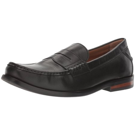 Cole Haan Men's Pinch Friday Contemporary Hand Stained Leather Black Ankle-High Loafer - 11.5M