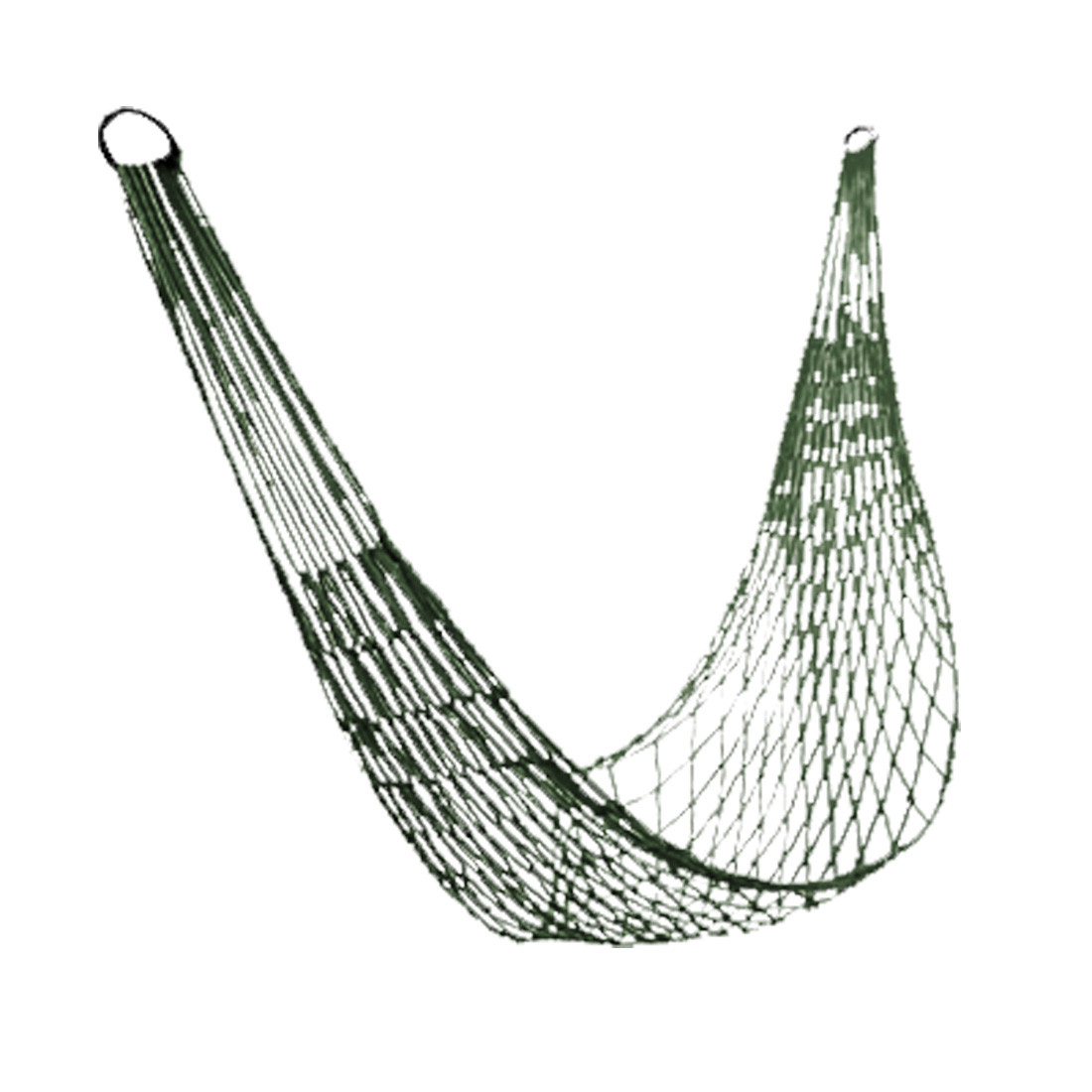 Unique Bargains Outdoors Comfortable Sleeping Hang Net Bed Hammock