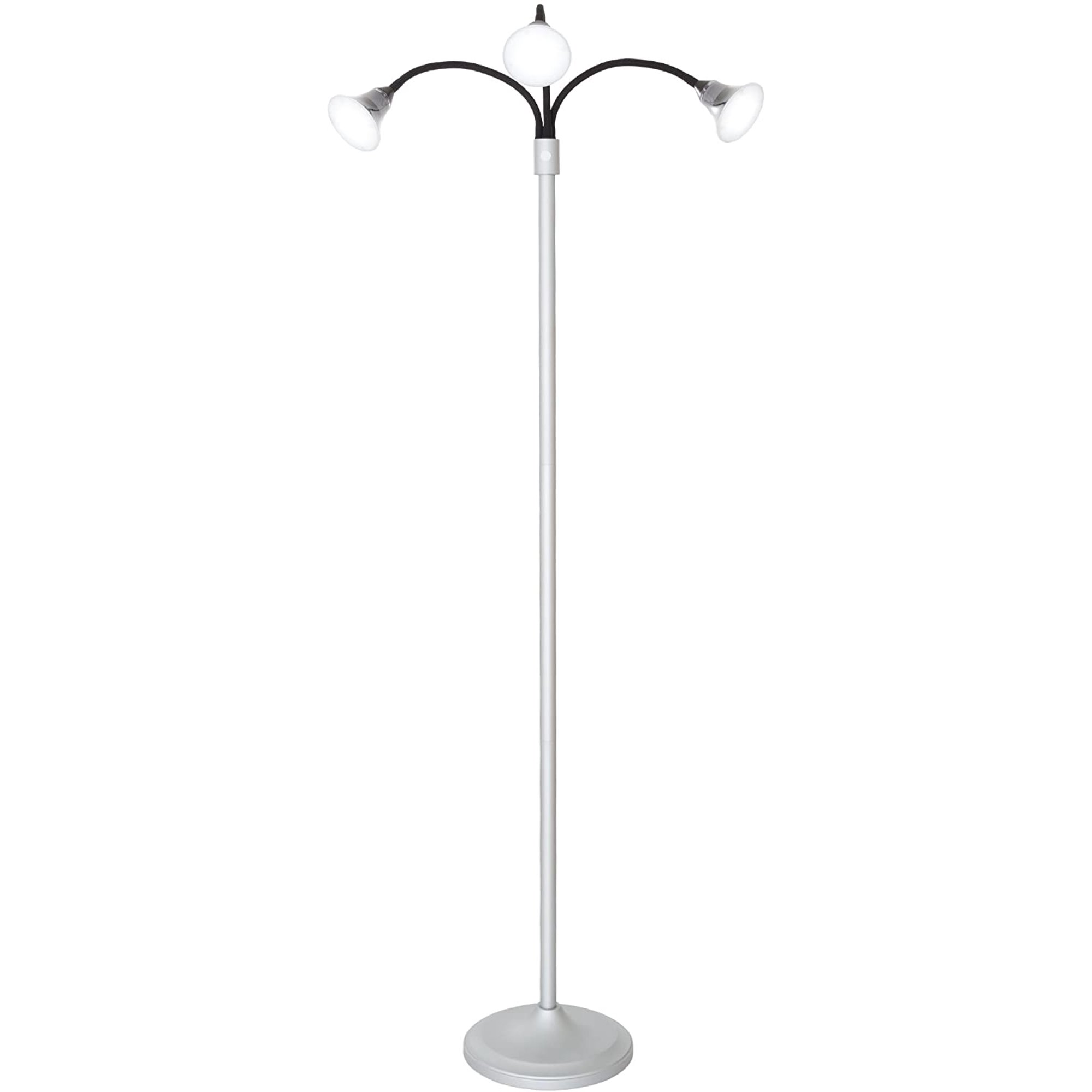 Floor Lamp Led Light, Floor Lamp With Dimmer Switch And Adjustable Arm
