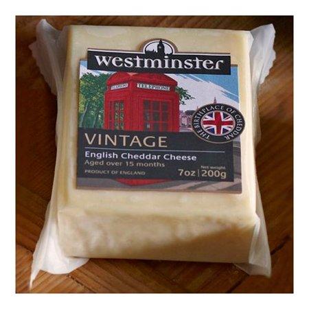 Somerdale International Westminster  Cheese, 7 oz (International Sterling Cheese)
