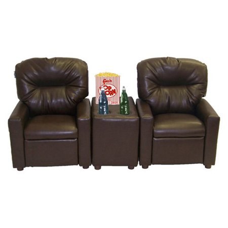 Dozydotes 2 Seat Theater Seating Recliner