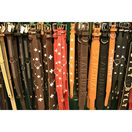 Canvas Print Clothes Clothing Belts Leather Belt Buckles Buckle Stretched Canvas 10 x 14